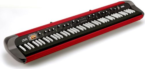 Korg Limited Edition SV-1RV Red 88-Key Stage Vintage Piano Red