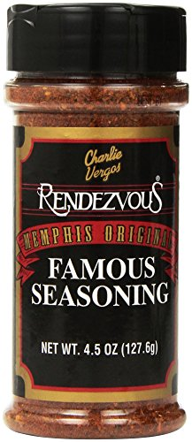 Charlie Vergos Rendezvous Famous Memphis Barbecue Dry Rub Seasoning (4.5 oz)