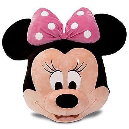 Minnie Mouse Plush Head Cushion Pillow