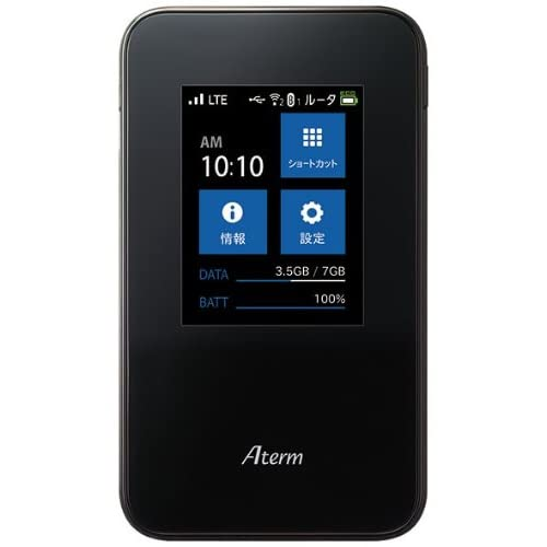 NECアクセステクニカ Aterm MR03LN 6B ( LTE モバイルルータ / microSIM ) PA-MR03LN6B