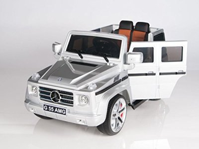 Licensed-Model-12V-Mercedes-G55-Premium-Ride-On-SUV-With-Bluetooth-Remote-MP3-input-3-SPEED