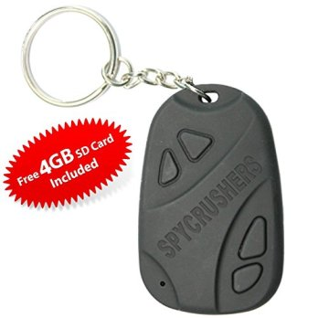 808-Camera-Best-Micro-Keychain-Camera-Hidden-Spy-Video-Recorder-Features-Video-Photo-and-Webcam-Functionality-Includes-FREE-4GB-High-Speed-Sd-Card-Satisfaction-Guarantee