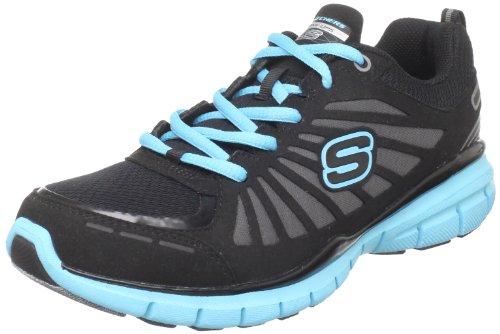 Skechers Run 11775 BKTQ, Damen Sportschuhe - Fitness, Schwarz (BKTQ), EU 40