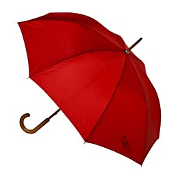Product Image Totes Stick Umbrella - Crimson Red