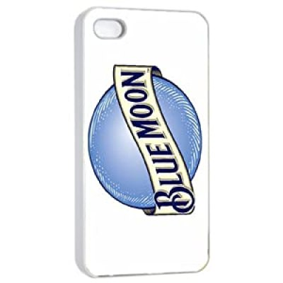 Cool Beer Logo Blue Moon white and blue iPhone 4/4s case at amazon