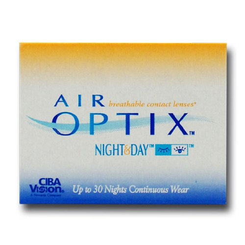 Ciba Vision Air Optix Night & Day Monatslinsen weich, 6 Stück / BC 8.6 mm / DIA 13.8 / -2,00 Dioptrien