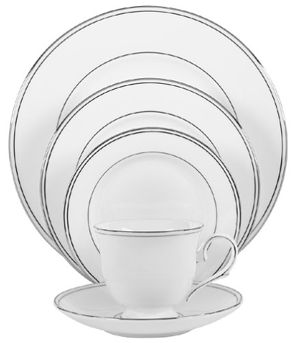 Lenox Federal Platinum Bone China 5-Piece Place Setting, Service for 1