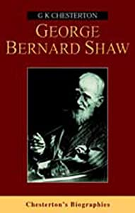 "Cover of ""George Bernard Shaw (Chesterton..."