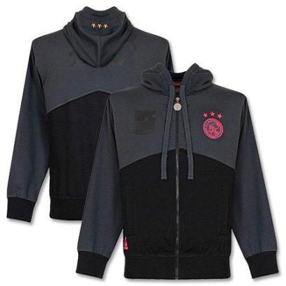 Ajax-Hooded-Sweater-2013-2014-BlackGreyPink-Boys-XS-128cm