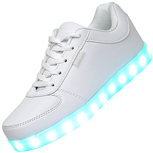 Odema-Women-USB-Charging-LED-Shoes-Flashing-Sneakers