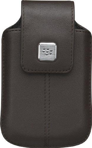 BlackBerry 純正 BlackBerry Bold 9780 / Bold 9700 / Curve 9300 Leather Swivel Holster Brown 本革レザースウィベルホルスター ブラウン HDW-18960-002