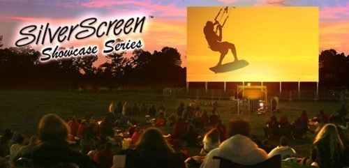 16 Ft Outdoor Theater w/Optoma Projector, Huge screen, Sound system, Blu-ray + WIFI