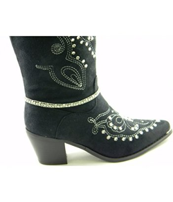 Boot-Anklet-Boot-Chain-Rhinestones-Adjustable-with-Extentions