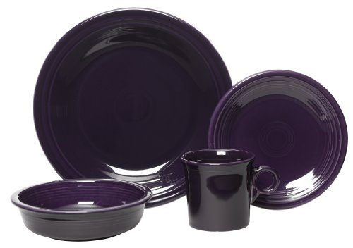 Fiesta 4-Piece Place Setting, Plum