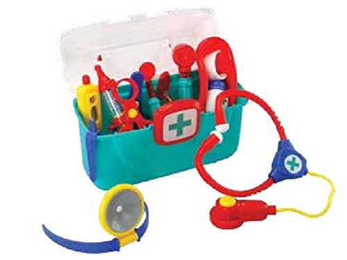 Small World Toys Preschool - The Doctor is in Medical Kit w/case B/O