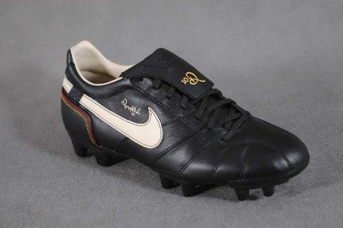 Nike Tiempo Guri Ronaldinho FG Herren Fußball-Schuhe Schwarz - Gr. 41