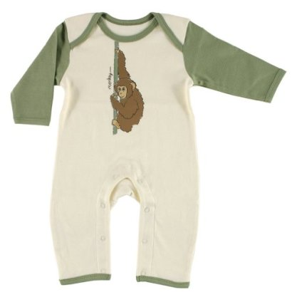 Hudson-Baby-Organic-Romper-Green-with-Monkey-6-9-Months