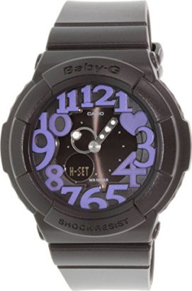 Casio-BGA134-1B-Baby-G-Black-Rock-Star-Neon-Illuminator-Ladies-Watch