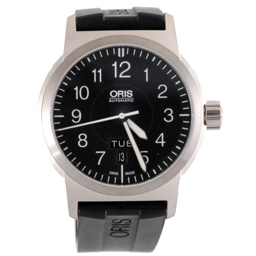 Oris Men's 735 7640 4164RS BC3 Sportsman Day Date Aviation Watch