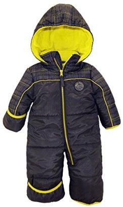 iXtreme-Baby-Boys-Plaid-Expedition-Puffer-Winter-Snowsuit-Pram-Grey-12-Months