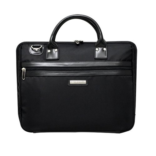 CaseCrown Black Portable Slim Briefcase/Messenger Bag for the Apple iPad