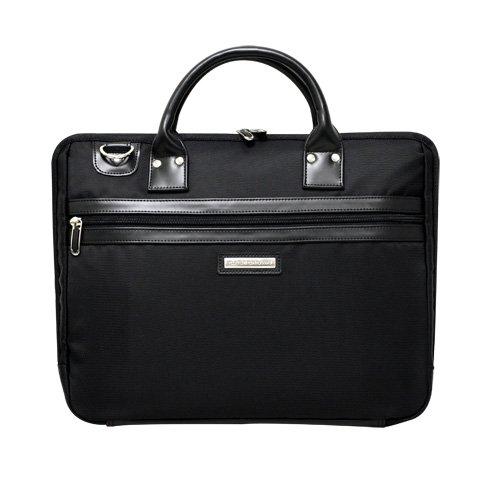 CaseCrown Black Portable Slim Briefcase/Messenger Bag for the Apple iPad