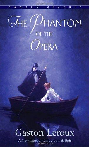 The cover of Gaston Leroux's The Phantom of the Opera