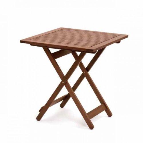 Belardo Gartentisch Savona Eckig 70 70 Klapptisch Gartentisch Holz