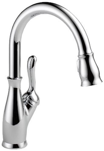 Discount Delta 9178 Dst Leland Single Handle Pull Down Kitchen Faucet Chrome Best Deals