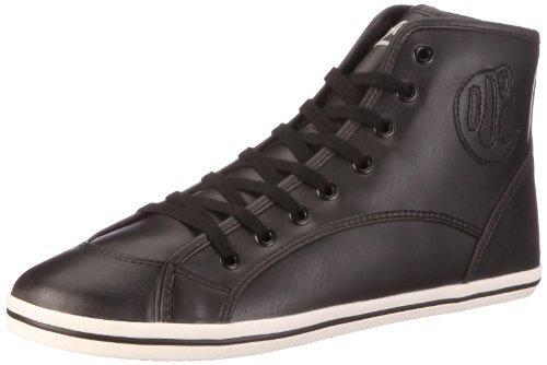 Buffalo 520-V14414 DERBY PU K 122755, Damen, Sneaker, Schwarz (BLACK 01), EU 39