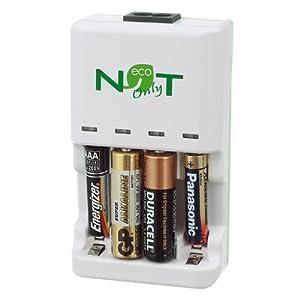 Der EBC lädt handelsübliche Batterien wie Akkus wieder auf!