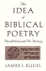 """Cover of """"The Idea of Biblical Poetry: Pa..."""