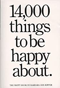 "Cover of ""14,000 Things to Be Happy About..."
