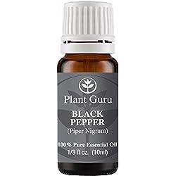 Black Pepper Essential Oil. (Piper Nigrum) 10 ml. 100% Pure, Undiluted, Therapeutic Grade.