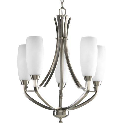 progress lighting p4436 09 5 light westin chandelier brushed nickel nvxkhjkhj