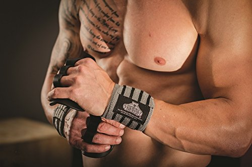 Bear Grips Wrist Wraps. Grey Color