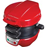 Hamilton Beach Breakfast Sandwich Maker, Red