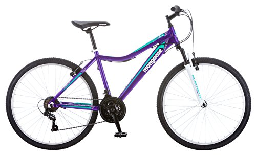 Mongoose Womens Silva Bicycle With 26 Wheels Purple 16small