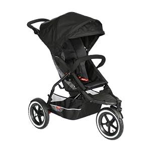 phil&teds Explorer Inline Stroller, Black
