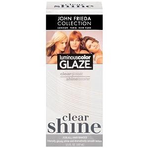 john frieda clear shine luminous color glaze 6 5 ounces pack of 2 hair care