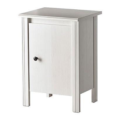 ikea brusali table de nuit blanc 44x36 cm rttfmrxm 54