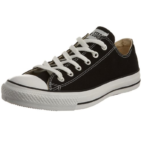 Converse AS OX CAN M9166, Unisex - Erwachsene Sneaker, Schwarz (black), EU 39 (US 6)