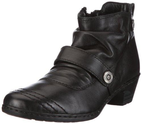 Rieker Lynn 76963-00, Damen Stiefel, Schwarz (schwarz 00), EU 38