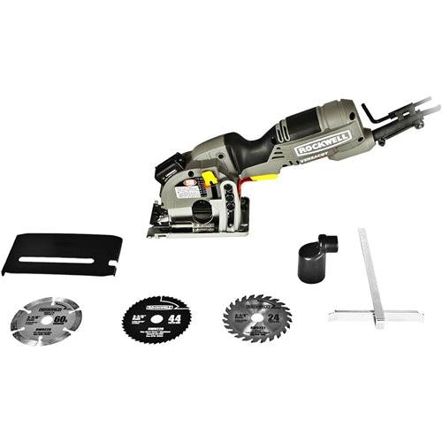 0 amp ultra-compact circular saw,laser indicator,video review,carry case,3-blade kit,(VIDEO Review) Rockwell Versacut 4.0 Amp Ultra-Compact Circular Saw with Laser Indicator and 3-Blade Kit with Carry Case - RK3440K,
