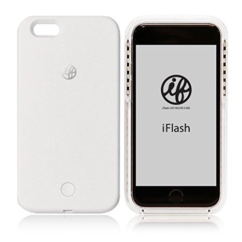 iFlash LED Selfie Case for iPhone 6 / 6S LEDライト付き自撮りフラッシュケース ホワイト