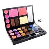 Color Makeup/ Makeup Kit/ Make up Set Including Pressed Powder,eye Shadow,lip Gloss and Blusher (001)