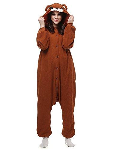 Tier Pyjamas Schlafanzug Jumpsuit Kigurumi Tierkostüme Bär