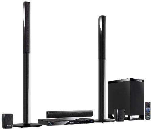 Panasonic SC-BTT770EGK 5.1 3D-Blu-ray Heimkinosystem (WLAN, 2 HDMI Eingänge, digitale iPod/iPhone Dock, SDXC, USB, 1000 Watt) schwarz