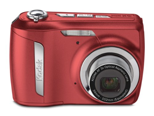 Kodak Easyshare C142 10 MP Digital Camera with 3xOptical Zoom and 2.5-Inch LCD (Red)