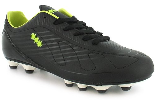 d4b2a4c4f24 Find Your Way With A Mens Lace Up Football Boots With Contrast Lining. –  Black Lime White – UK 12